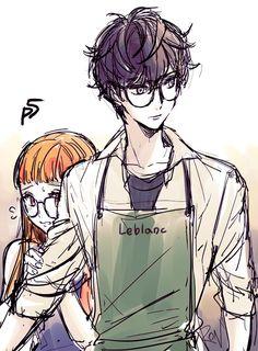 Akira and Futaba Persona 5 Anime, Persona 5 Joker, Persona 4, Character Art, Character Design, Gato Anime, Desenhos Love, Shin Megami Tensei Persona, Akira Kurusu