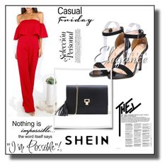 """SheIn 3/II"" by amina-haskic ❤ liked on Polyvore featuring WALL and shein"