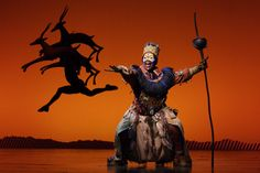 The lion king on broadway - She was my favorite part.