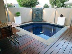 Top 80 Best Hot Tub Deck Ideas - Relaxing Backyard Designs Modern Ideas For Hot Tub Deck Hot Tub Backyard, Hot Tub Garden, Backyard Pool Landscaping, Backyard Pool Designs, Small Backyard Pools, Backyard Sheds, Small Pools, Swimming Pools Backyard, Diy Garden