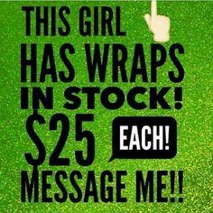 """Pre selling wraps $25!!! msg me, or text """"wraps"""" to 510-730-8757   Email: rkayla.bodywrapz@gmail.com  Website: rkayla.myitworks.com"""