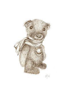 #original#drawing#graphitepencils#teddybear