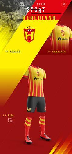 LA NUEVA CARA DE LA PASIÓN   Uniformes de CR on Behance Uniformes Soccer 457f77ee9e54f