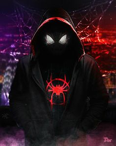 Black Spiderman, Spiderman Spider, Amazing Spiderman, Spiderman Marvel, Spider Men, Tableau Star Wars, Miles Morales Spiderman, Spiderman Pictures, Handy Wallpaper