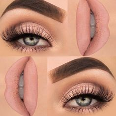 My favourite simple nude look! Cannot go wrong with that .
