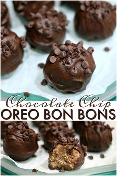 Only four ingredients in these simple Chocolate Chip Oreo Bon Bons. They are a…