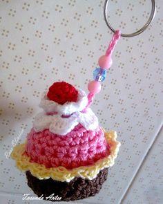 Amigurumi Cupcake Keychain : 1000+ images about dolcetti e cibo alluncinetto on ...