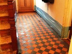 Hallway Victorian Quarry Fliesenboden Finedon Nach How To Potty Train In Tw Diy Flooring, Wood Floors, House, Victorian Homes, Tile Floor, Clean Tile, Pergo Flooring, Flooring, Tiled Hallway