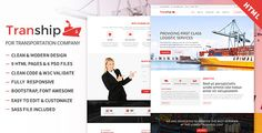 Download Tranship - Shipping / Logistics / Transportation / Responsive HTML Template Nulled Latest Version