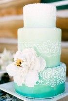 Awesome Ombre Wedding Cakes 68