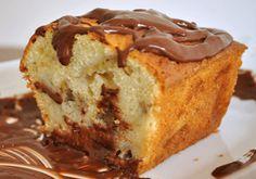 Budin de banana y chocolate sin gluten - Glu-Fri Chocolate Sin Gluten, Bolo Fit, Plum Cake, Fodmap, Grain Free, Gluten Free Recipes, Vanilla Cake, Free Food, Banana Bread