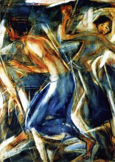 The Athenaeum - Dancing (Christian Rohlfs - No dates listed)