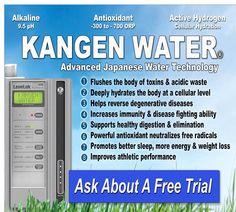 Call me anytime for some F>r.e.e Kangen water... f.r.e.e. ebook >>> www.aquamiracles.com