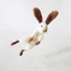 "Jumping bunny rabbit Sir Hopsalot from natural sheep by forestblue, ask your Mom about  "" Sir Hopsalot"" ??"