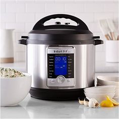 Instant Pot Ultra 8 Qt Multi Use Programmable Pressure Cooker Slow Cooker Rice Cooker Yogurt Maker Cake Maker Egg Cooker Sauté Steamer Warmer and Sterilizer >>> Be sure to check out this awesome product. (This is an affiliate link) Best Electric Pressure Cooker, Power Pressure Cooker, Instant Pot Pressure Cooker, Pressure Cooking, Amazon Instant Pot, Instant Cooker, Essential Kitchen Tools, Yogurt Maker, Cake Makers