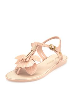 Melissa Shoes Solar Jelly Thong Sandal, Beige | Last Call