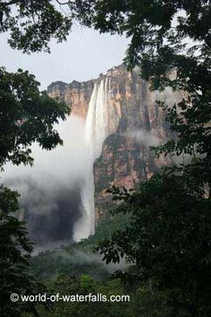 Angel Falls (Salto Ángel)  Canaima National Park / Auyantepui, Bolivar, Venezuela