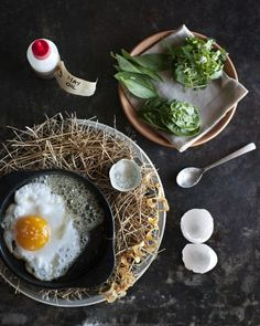 Noma's signature dish, The Hen and the Egg - Noma in Copenhagen : wsj - June 23, 2011 #photography #food