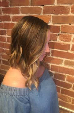 Thank you, Katie, for giving Christian the honors of creating your first balayage!   Ready to try some new color? Reserve an appointment today at 816-605-1949 or visit http://www.theglamroomkc.com.  #TheGlamRoomKC