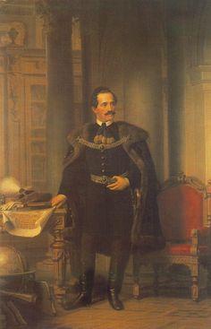 1866 Desseweffy Emil portréja Barabás M