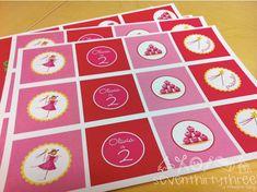 Pinkalicious Birthday Party {Free Party Printables} | Living Locurto - Free Party Printables, Crafts & Recipes