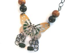 Starbucks can recycled necklace!