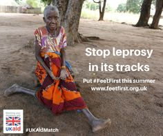Put #FeetFirst this summer and help us transform lives in Mozambique. The UK government is matching public donations to #FeetFirst.