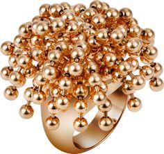 Paris Nouvelle Vague ring Pink gold