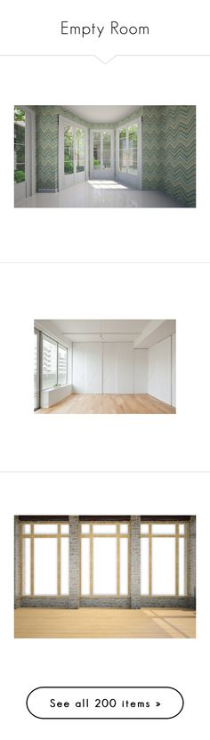 """""""Empty Room"""" by szivarvanydesign ❤ liked on Polyvore featuring rooms, empty rooms, home, interiors, backgrounds, rooms 2, room, doors, windows and interior"""