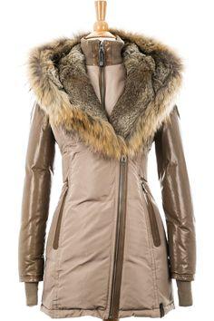 Grace Down Parka With Fur Trim