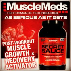 Our TSN Team members asked for it and  now it's back. Muscle Meds Secret Sauce that magical post workout matrix is back at TSN Sports Nutrition.  Get it today. Poweredby TSN to train like a pro. by tsnsportsnutrition
