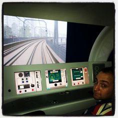 Simulador do Metrô #metro #subway #urban #saopaulo #sampa #sp #railway #igers #igersbrasil #igerssaopaulo #instasampa #instadroid #metrosp