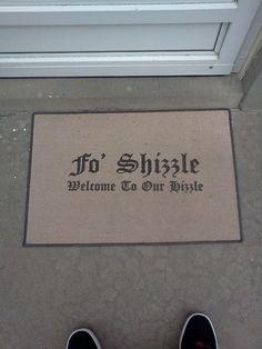 the bohannan welcome mat!