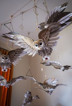 Home Crafts, Diy And Crafts, Arts And Crafts, Paper Crafts, Deco Nature, Harry Potter Room, Decoration, Paper Flowers, Paper Art