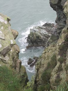 Cliffs at Howth, Ireland