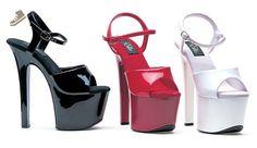 Ellie Shoes E-711-Flirt 7 Heel Sandal White / 5 - Ellie shoes pumps for women (*Amazon Partner-Link)