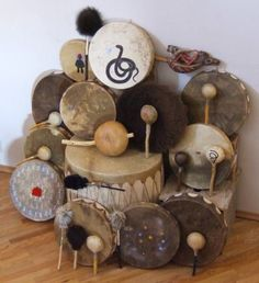 """Join our Shaman's Drum Making Nov 22 n 29 Barrie Ontario Healer Spiritualist Shaman Priestess Magician Witch  I welcome you join us in this magical creation of a beautiful Drum, spiritually infused with ancient tradition and great spirit. We birth these divine medicine tools in a feast with the help of song and prayer. While making the drum she/he will """"speak"""" to you about its gender and your personal past, present and future life.  Its an experience you will never forget!"""