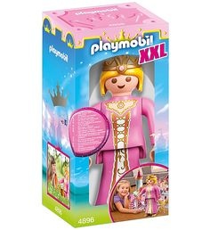 For play and for decorating. Suitable for use indoors and outdoors. Like regular Playmobil figures, the arms are fully articulated. - The arms and head can be moved and the Princess can sit. - Height: