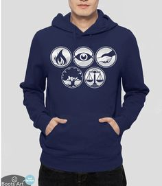 """Divergent Factions"" Divergent Hoodie 