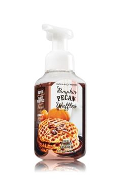 Pumpkin Pecan Waffles - Gentle Foaming Hand Soap - Bath & Body Works - Our Gentle Foaming Hand Soap, now reformulated with nourishing aloe and protective Vitamin E, features our best foam ever to leave hands clean, softly scented and oh-so smooth!