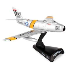 Postage Stamp F-86 Sabre MIG Mad Marine Model Airplane - PS5361-3