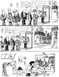 "Joaquín Lavado (""Quino"") Satirical Illustrations, Story Prompts, Humor Grafico, Comic Page, Comic Strips, Illustrators, Vintage World Maps, Funny Quotes, Hilarious"