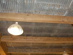 corrugated metal for porch roof Recycled Wood Siding | Photo #8136 - Reclaimed Metal used for Ceiling