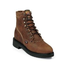 Justin Women's Lace-R Steel Toe Work Boots