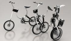 馬蹄形のフレームを持つ折り畳み自転車「Somerset」 - えん乗り