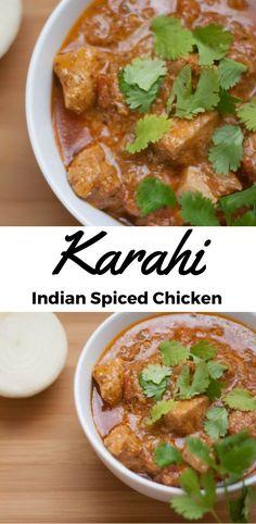 Karahi: Indian Spiced Chicken
