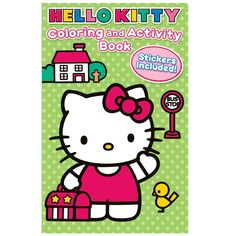 Hello Kitty Coloring and Activity Book with Crayons - Includes (1) or (8) coloring books with crayons.
