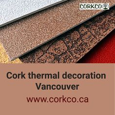 We use is a 100% natural products for the cork thermal decoration in Vancouver. You can call us today for any kind cork thermal decoration and Cork Spray. Natural Products, Ottawa, Calgary, Montreal, Vancouver, Cork, Decoration, Decor, Decorations
