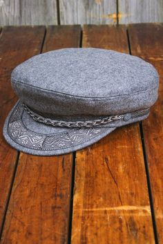 Authentic Greek Fisherman's Cap - Grey