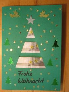 Tannenbaum Karte Tannenbaum Karte The post Tannenbaum Karte appeared first on Jasmine Lambrick. Christmas Tree Cards, Christmas Wrapping, Winter Christmas, Diy Gifts Paper, Paper Crafts, Birthday Gift For Wife, Diy Birthday, Tarjetas Diy, Diy Cadeau Noel
